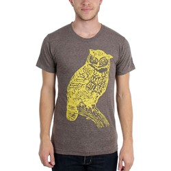 Maps & Atlases - Mens Owl T-Shirt