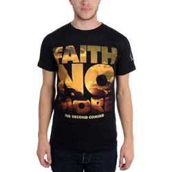 Faith No More - Mens The Second Coming Yellow Sky T-Shirt