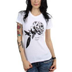Crystal Castles - Womens Rose T-Shirt