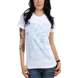 MGMT - Womens Spring 2010 Blue Logo T-Shirt