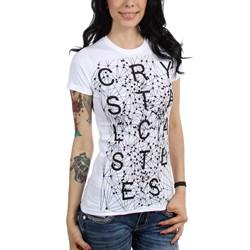 Crystal Castles - Womens Crimewave T-Shirt