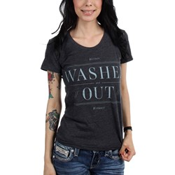 Washed Out - Womens Black Within and Without T-Shirt