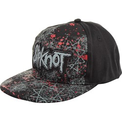 Slipknot - Star Pattern Baseball Hat In Black
