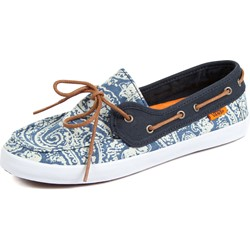 Vans - Womens Chauffette Shoes in Navy/White