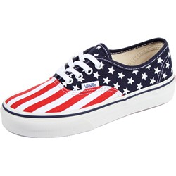 Vans - Kids Authentic Shoes in (Stars & Stripes) Peacoat/Formula One