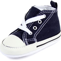 Converse Crib Chuck Taylor First Star Hi Shoes in Navy