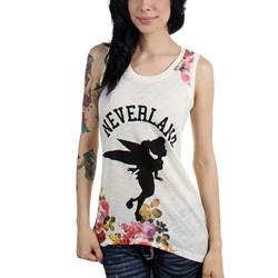 Neverland - Womens Silouette Muscle T-Shirt
