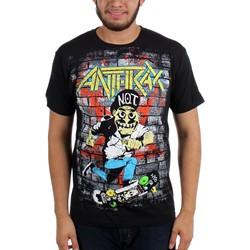 Anthrax - Mens Skater Guy T-shirt in Black