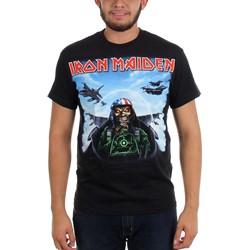 Iron Maiden - Mens Texas Jetfighter T-shirt in Black