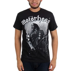 Motorhead - Mens 49/51 Photo T-shirt in Black