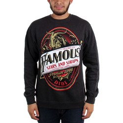 Famous Stars and Straps - Mens Goat Seal Crewneck Sweatshirt