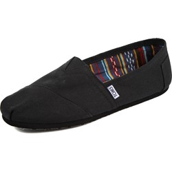 Toms - Mens Slip-On Shoes In Black/Black