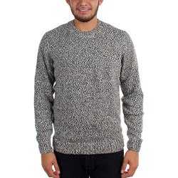 Lacoste - Mens L!Ve Jacquard Two-Tone Cotton Sweater