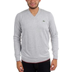 Lacoste - Mens L!Ve Cotton Jersey Semi Fancy V-Neck Sweater