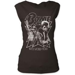 David Bowie - Womens 1972 World Tour T-Shirt