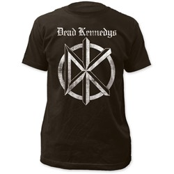 Dead Kennedys - Mens Distressed Old English Logo Fitted T-Shirt
