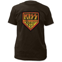 KISS - Mens Army Fitted T-Shirt