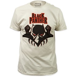 Black Panther - Mens Logo Fitted T-Shirt