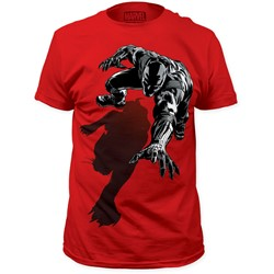 Black Panther - Mens Shadow Fitted T-Shirt