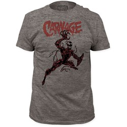Carnage - Mens Action Pose Fitted T-Shirt