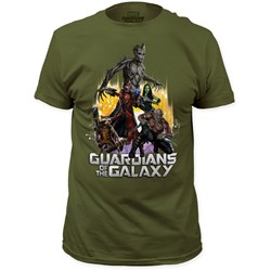 Guardians of the Galaxy - Mens Battle Ready Fitted T-Shirt
