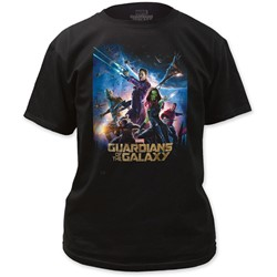 Guardians of the Galaxy - Mens Movie Poster T-Shirt