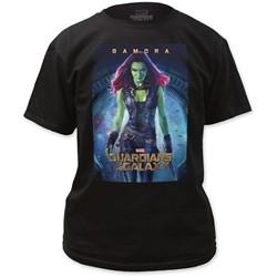 Guardians of the Galaxy - Mens Gamora Poster T-Shirt