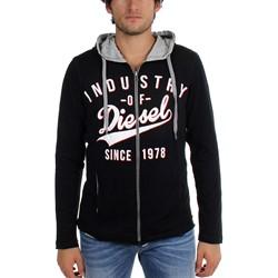 Diesel - Mens Sham-Print Felpa Hooded Sweater