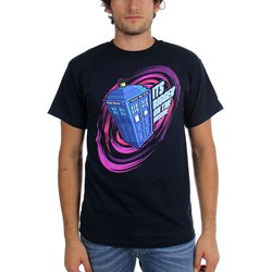 Dr. Who - Mens Bigger On The Inside T-Shirt