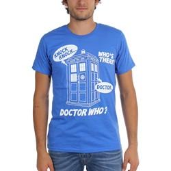 Dr. Who - Mens Knock Knock T-Shirt