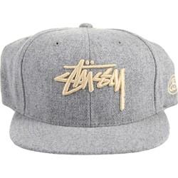 Stussy - Unisex-Adult Stock Melton Snapback Hat