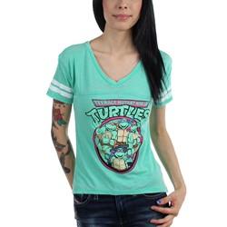 Teenage Mutant Ninja Turtles - Womens Turtle Power Burnout T-shirt