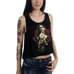 Sullen - Womens SA Letter High Low Tank Top