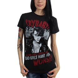 Cry Baby - Womens Bad Girls Want Him T-Shirt