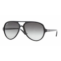 Ray-Ban RB4125 601/32 Shiny Black Sunglasses