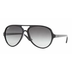 Ray-Ban RB4125 601/32 Shiny Black Sunglasses