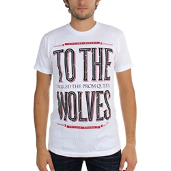 I Killed The Prom Queen - Mens Wolves White T-Shirt