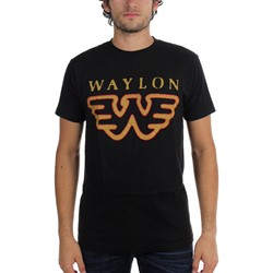 Waylon Jennings - Mens Flying W T-Shirt
