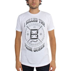 I Killed The Prom Queen - Mens Streets White T-Shirt