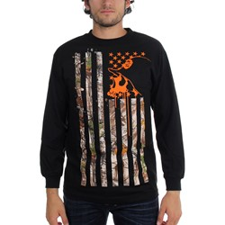 Metal Mulisha - Mens Lost Flag Long Sleeve Shirt