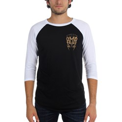 Black Market Art - Mens American Iron Raglan
