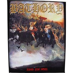 Bathory - Blood Fire Death Back Patch