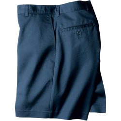 Dickies - 27-282 Adult Sized Flat Front Short
