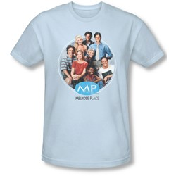 Mp - Mens Season 1 Original Cast T-Shirt In Light Blue