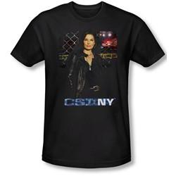 Csi Ny - Mens Jo T-Shirt In Black