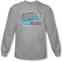 Mayberry - Mens Floyd'S Barber Shop Long Sleeve Shirt In Heather