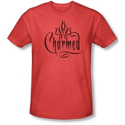 Charmed - Mens Charmed Logo T-Shirt In Red