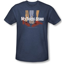 My Three Sons - Mens Shoes Logo T-Shirt In Navy