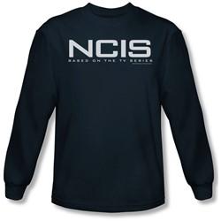Ncis - Mens Logo Long Sleeve Shirt In Navy