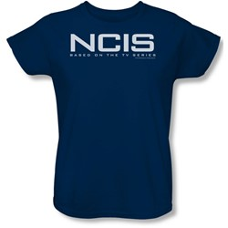 Ncis - Womens Logo T-Shirt In Navy